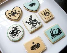 Icon Cookies #sugar #cookies #royal icing