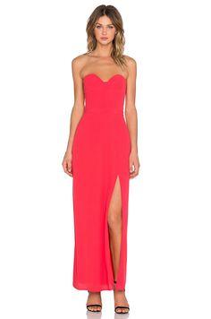 NBD x REVOLVE Wish Maxi Dress in Red