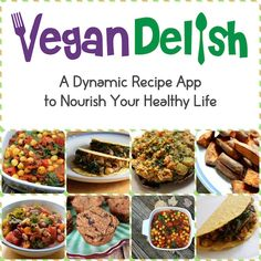 New #recipes added to Vegan Delish, the healthy cooking app for your iPhone or iPad. Download from the iTunes App store today!