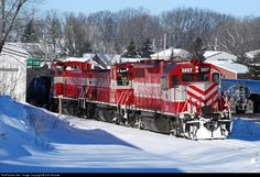 RailPictures.Net Photo: WSOR 3807 Wisconsin & Southern EMD GP38 at Slinger, Wisconsin by Erik Shicotte