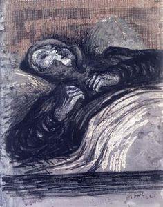 Henry Moore | Sleeping Shelterer | 1941