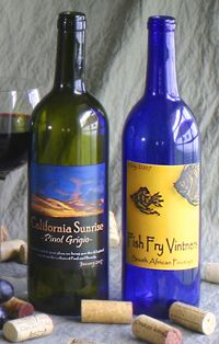Customized wine labels from Noontime Labels