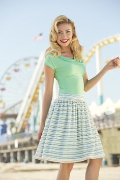Newcomb Skirt | Ferris Wheel Collection by Shabby Apple