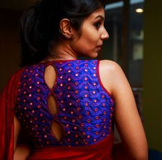 Custom Designer Blouses for women designed with nuances in cuts, embroidery, fine detailing and craftsmanship in Studio 149 by Swathi Purushtham.