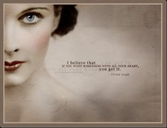 Pink Peony: ~Vivien Leigh Quote