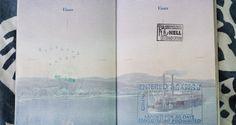 Carimbos de passaporte para turistas