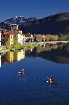 Brivio, Lecco, Lombardy, Italy