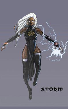 storm x men Storm Xmen, Storm Marvel, Hq Marvel, Marvel Dc Comics, Marvel Heroes, Comic Book Characters, Comic Character, Comic Books Art, Comic Art