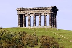 Penshaw Monument in Houghton le Spring England