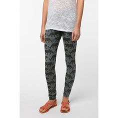 Truly Madly Deeply Leopard Legging ($39) via Polyvore