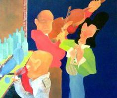 Locanda Olio su tela 160x160 Venduto- collezione privata www.edoardopiva.com