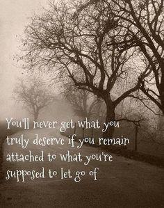 Let go, breathe....live