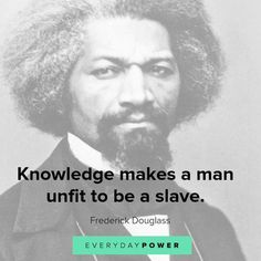 50 Frederick Douglass Quotes about Freedom and Progress Amazing Inspirational Quotes, Motivational Quotes For Life, Success Quotes, Life Quotes, Qoutes, Motivation Quotes, Quotations, Frederick Douglass, Quotes For Kids