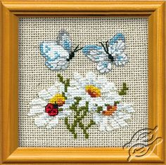 Daisies - Cross Stitch Kits by RIOLIS - 757