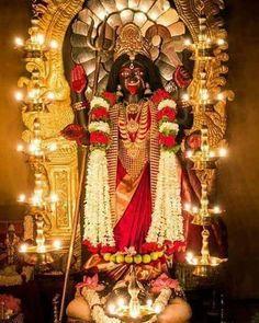 No photo description available. Maa Durga Photo, Maa Durga Image, Maa Kali Images, Durga Images, Shiva Art, Shiva Shakti, Kali Shiva, Kali Hindu, Hindu Art