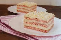 Fincsi receptek: Krémes sütik Vanilla Cake, Tiramisu, Barbie, Sweet, Food, France, Romanian Recipes, Sheet Cakes, Essen