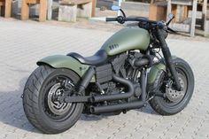 Customized Harley-Davidson Fat Bob by Thunderbike Customs Germany