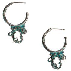 Blossom Hoop Earrings : Joanne MacFadyen