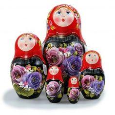 Matryoshka Summer Nesting Doll