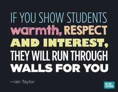 My secret to classroom management. When they like you, they work to impress you! #teacher