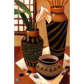 Found it at Wayfair - Still Life with African Bowl by Keith Mallett Painting Print on Canvas