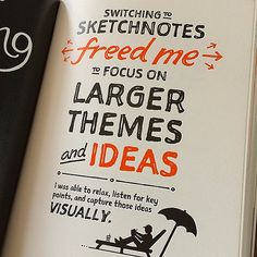 Reflecting on the wisdom of @rohdesign this afternoon. The Sketchnote Handbook is an essential part of my library. #typehunting #sketchnotes #drawandlearn | Flickr - Photo Sharing!