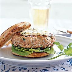 Chipotle Salmon Burgers | MyRecipes.com
