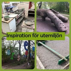 how to make stimulating outdoor play Outdoor School, Outdoor Classroom, Outdoor Learning Spaces, Outdoor Spaces, Preschool Education, Preschool Ideas, Natural Playground, Outdoor Activities For Kids, Nursery School