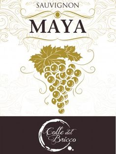 Maya - Sauvignon - Colle del Bricco #vino #wine #naming #packaging #design