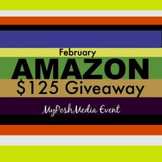 #Giveaway and #OPPS Listing February event for a $125 gift card to Amazon. Sign up now.