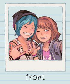 Selfie (Life is Strange) Life Is Strange Fanart, Life Is Strange 3, Chloe Price, Reference Manga, Inktober, Arcadia Bay, Film D'animation, Weird Art, Partners In Crime