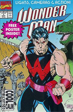 Wonder Man #1 - I still own this and I used to have issues up to #25. Following this comic with the artist Jeff Johnson, I became a fan of this simplistic hero of the Avengers.