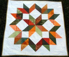Build-a-Baby Quilt from Wedding Dress Blue