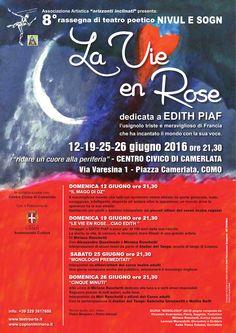 "8° Rassegna Nivul e Sogn:"" La Vie En Rose"""