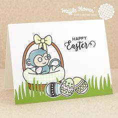 Waffle Flower Spring 2016 Release – Day 2 – Egg Hunt | happy easter