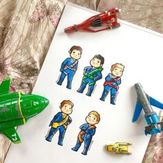 Thunderbirds Are Go! Chibis.