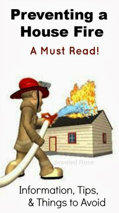 Little is scarier than your house catching on fire with loved ones inside.  Here is everything you need to know about preventing  surviving house fires as well as general fire safety- this is a must read for everyone, especially parents! {Some common causes may surprise you}