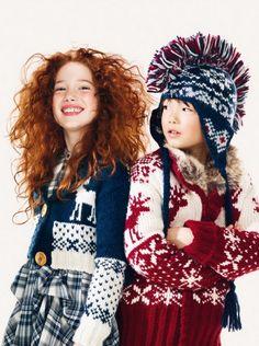 ALALOSHA: VOGUE ENFANTS: Ультро-яркий Benetton Fall/Winter2011/ 2012 #kids #fashion