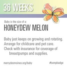 36 Weeks #bumpbadge | Mercy Medical Center - Des Moines