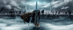 Lich King by AnthonyAvon.deviantart.com on @deviantART