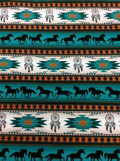 Elizabeth Studios Native Pattern Horses Stripe by dancingbear Native American Decor, Native American Patterns, Native American Pictures, American Indian Art, American History, Aztec Pattern Wallpaper, Tribal Pattern Art, Tribal Wallpaper, Aztec Art