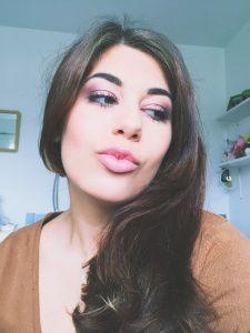 Purple Haze CARA LIPPITT   Makeup