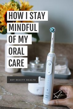 #Ad // Do you remember to brush your teeth for at least two minutes? Click pin to see my full review of the Oral B Guide Electric Toothbrush and how it has helped me be more mindful with my daily oral care routine. // #OralBGuide Health And Fitness Tips, Health And Wellness, Brush My Teeth, My Daily Life, Self Care Routine, Useful Life Hacks, Do You Remember, Best Self, Take Care Of Yourself