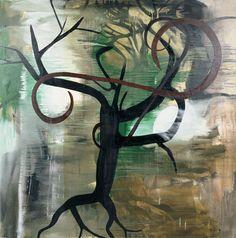 Albert Oehlen (germ. born 1954), Untitled, 1989, oil on canvas, 200 x 300 cm, Saatchi Gallery, London