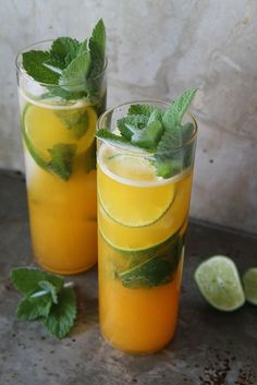 Ingredients •1/4 cup apricot puree •6 fresh mint leaves •1/2 lime, sliced in wedges •2 ounces white rum •2 ounces chilled club soda •Apricot Puree, makes 2 cups •4 apricots pitted and chopped •1 1/2 cups water •½ cup sugar •pinch of salt {wineglasswriter.com/}