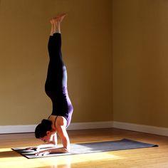 Strike a Yoga Pose: Forearm Stand | POPSUGAR Fitness