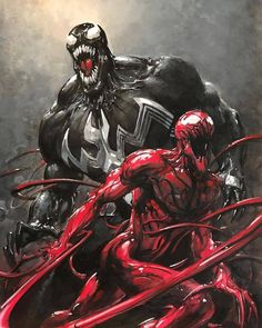 The best Venom & Carnage artist in my opinion   Download images at nomoremutants-com.tumblr.com  Key Film Dates:: Marvel  - Thor: Ragnarok: Nov 3 2017  - Black Panther: Feb 16 2018  - New Mutants: Apr 13 2018  - The Avengers: Infinity War: May 4 2018  - Deadpool 2: Jun 1 2018  - Ant-Man & The Wasp: Jul 6 2018  - Venom : Oct 5 2018  - X-men Dark Phoenix : Nov 2 2018  - Sonys Silver & Black: Feb 8 2019  - Gambit: Feb 14 2019  - Captain Marvel: Mar 8 2019  - The Avengers 4: May 3 2019…