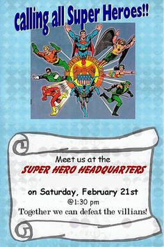 super hero birthday party you-say-its-your-birthday