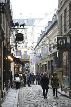 My favourite part of Paris. The alleys of Saint Germain des Pres, Paris