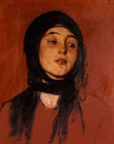 "National Gallery of Athens - Nikolaos Gyzis, ""Yiantes"" Greek Paintings, National Gallery, Greek Art, Portraits, Portrait Art, Art Database, Art For Art Sake, Les Oeuvres, Painting & Drawing"
